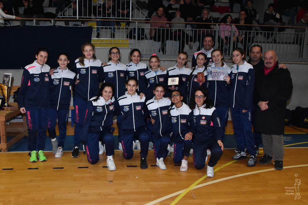 3° Classificata Agil Volley Novara
