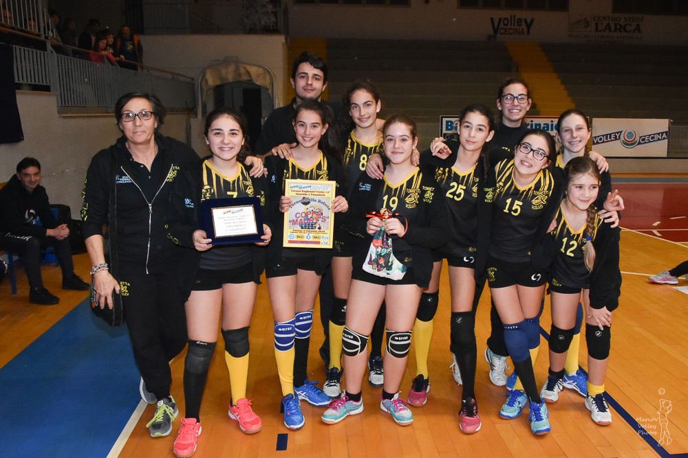 1° Classificato Torretta Volley