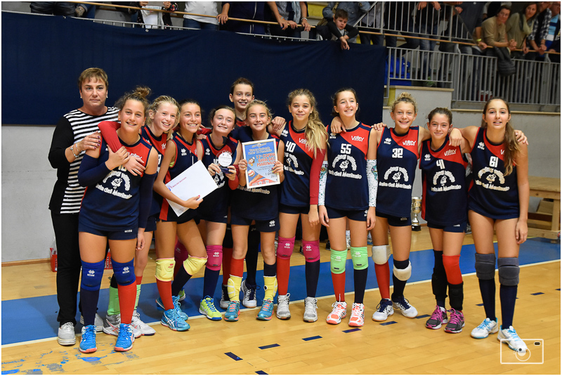1) Volley Cecina Rossa