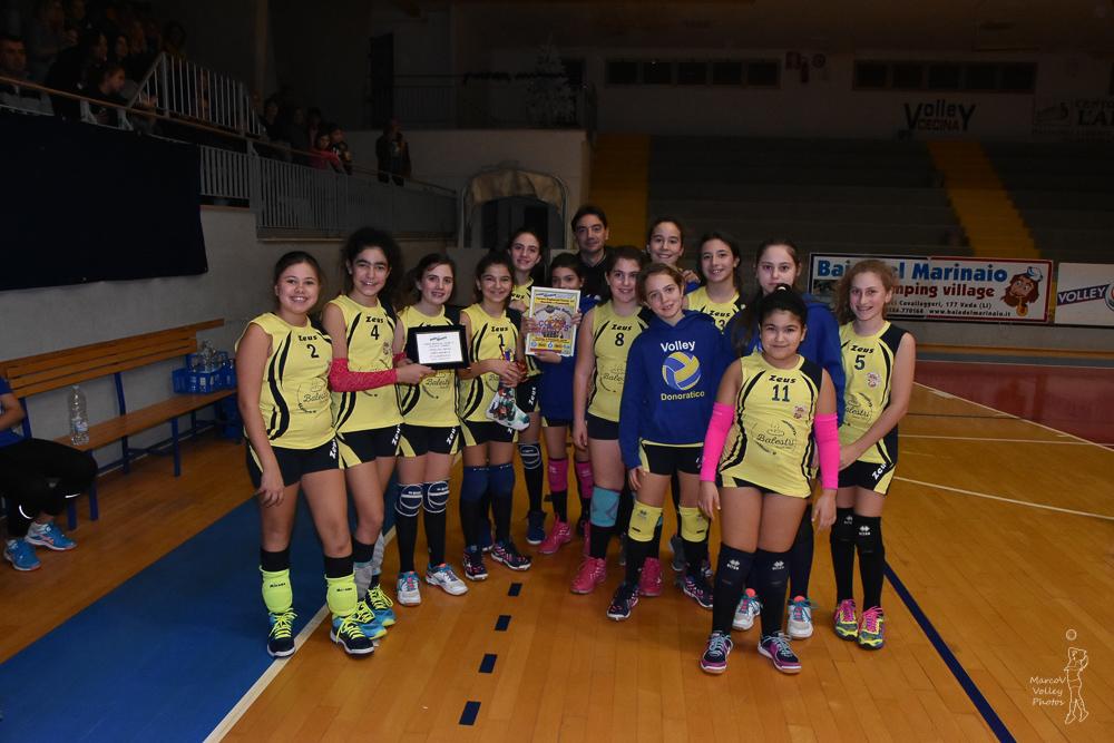 5° Classificato Volley Donoratico