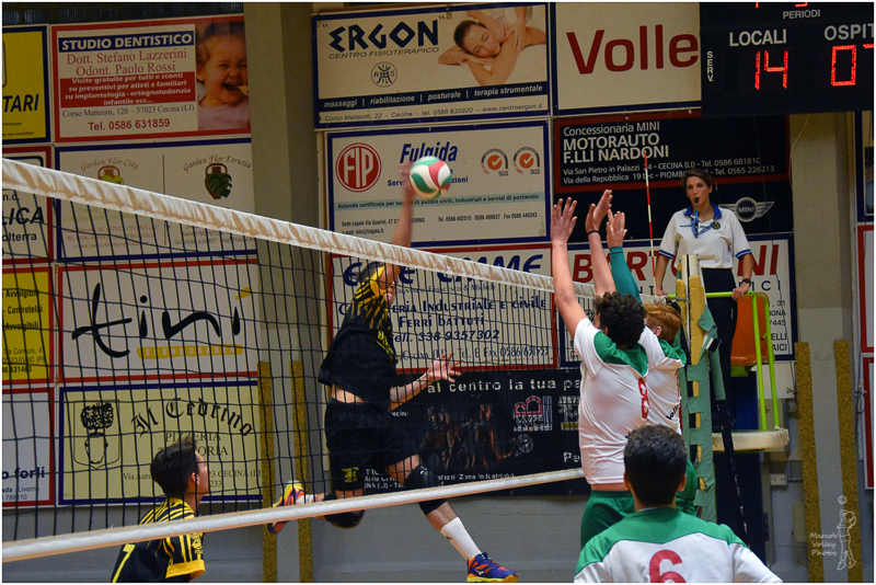 Semifinale Volley Club Cascinese-Torretta Volley Livorno